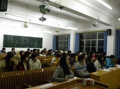 财会系青年志愿者协会召开中期调整大会