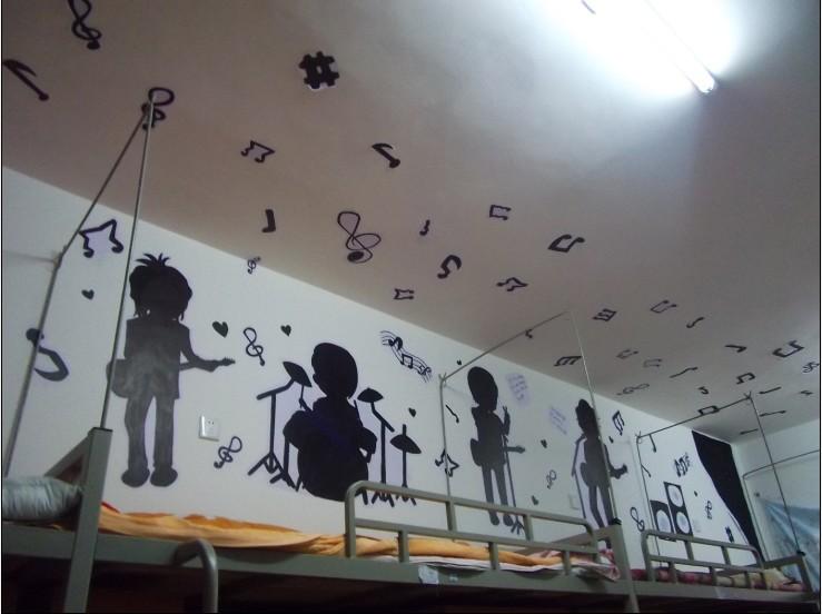 寝室装扮 大赛-哈尔滨   女生宿舍装饰效果图   大学宿舍室