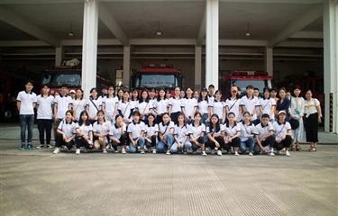 【团学活动】履行消防安全职责,规范消防安全——学院大学生自律委员会参观消防馆